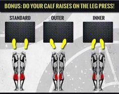45 degree leg press …