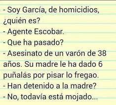 García, de homicidios