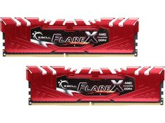 G.SKILL Flare X Series 16GB (2 x 8GB) 288-Pin DDR4 SDRAM DDR4 2133 (PC4 17000) AMD X370 / B350 / A320 Memory (Desktop Memory) Model F4-2133C15D-16GFXR