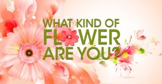 Welcome, Spring! Find out what flower you are and share what makes you bloom!