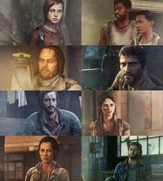 Characters in The Last Of Us