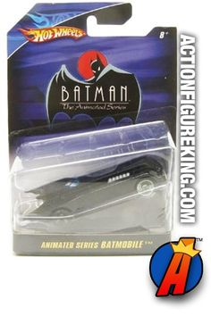DC Comics Batman animated series Batmobile 1/50 die-cast vehicle from Hot Wheels