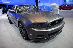 The Ford Mustang Convertible at the 2012 Canadian International Auto Show in Toronto.