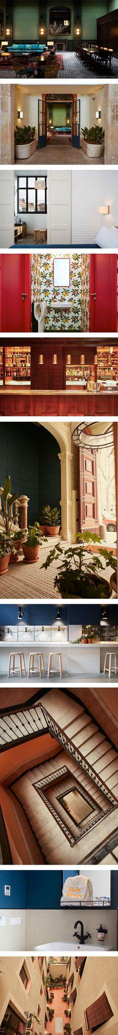 Casa Bonay: A very cool hotel in the heart of Barcelona on Nuji.com #casabonay #hotel #barcelona