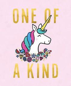 One of a kind unicorn