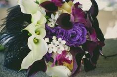 Beautiful wedding bouquet by local florist Michael's Florist of Simi Valley, California