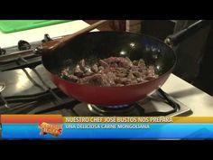 SIEMPRE JUNTOS: Receta para una deliciosa Carne Mongoliana - YouTube