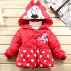 8044dc7c45 Aliexpress.com   Buy Fashion children Minnie coats for girl autumn and  winter wholesale and retail with free shipping from Reliable winter jacket  suppliers ...