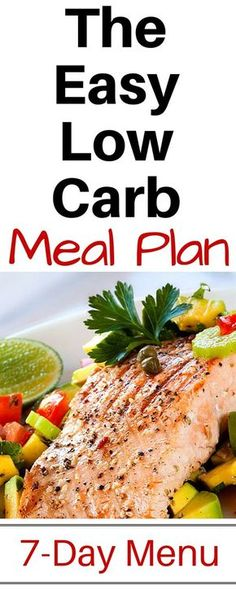 7 Day Low Carb Menu.  This low carb meal plan looks amazing. Easy to make low carb recipes and super tasty.  I can totally lose weight because I can follow this no problem.  http://michellemariefit.com/low-carb-meal-plan/