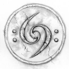 Bass Clef tattoo design.