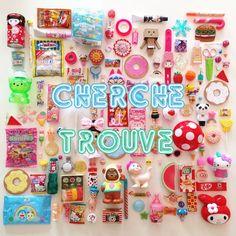 ★Mon CHERCHE et TROUVE Kawaii!★ {le Jeu pour Minis!}