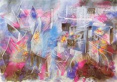 Roberto Matta, Labirintad, 1982, 209 x 296cm ©
