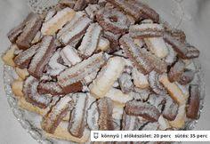A nagyi darálósa Hungarian Cookies, Hungarian Recipes, Hungarian Food, Sweet Life, Cake Cookies, Biscotti, Apple Pie, Nutella, Almond