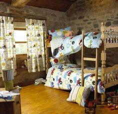 "Prestigious Textiles ""Orchard Farm"" childrens bedroom"