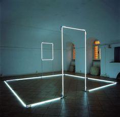 Minimal Light Installations By Massimo Uberti