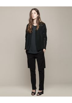 3.1 PHILLIP LIM /  DOUBLE LAYER TROUSERS  $475.00