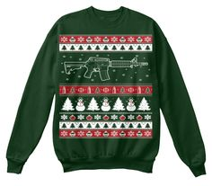 AR15 Ugly Christmas Sweater! Click The Image To Buy It Now or Tag ...