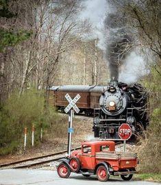 Zug Illustration, Motor A Vapor, Train Drawing, Old Steam Train, Steam Engine Train, Railroad Photography, Train Art, Old Trains, Vintage Trains