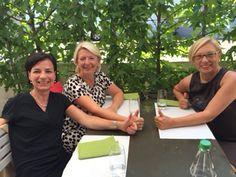 Herzlich willkommen, Ulrike Clasen (rechts) und Irene Wüst (links) in der S.C.I.L.Community sowie  ein herzliches Dankeschön an unsere CH-Instructorin Sabine Grebien (mitte) für die erfolgreiche Autorisierung zwei neuer S.C.I.L.Master.