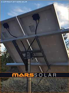 Mars Solar Solar Panel Rack Mount / (OD) Pole Mount Adjustable Top of Pole Max * You can get more details by clicking on the image. (This is an affiliate link) Mars, Solar Led Lights, Solar Generator, Automatic Gate, Racking System, Solar Roof, Solar Panels For Home, Solar Projects, Solar Charger