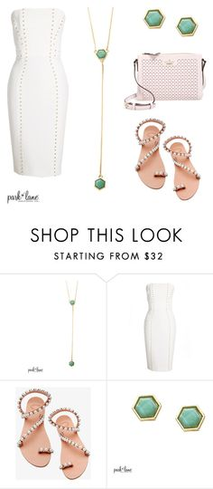 """""""My Park Lane Style"""" by parklanejewelry ❤ liked on Polyvore featuring Versace, Elina Linardaki and Kate Spade"""