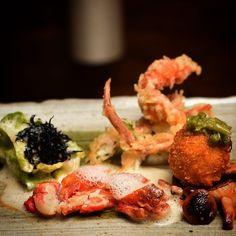 Crab course: king crab soft shell crab and snow crab #forfandendetergodt #cph #danish #japanesefood #healty #chefstalk #chefsoninstagram #gourmet #instagood #foodblog #instafood #gastronomy #aokdk #theartofplating #smagogbehag #forfandendetergodt by chef_maxsurdu