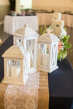 This Set of 3 rustic wooden lanterns - Lantern wedding centerpiece is just one of the custom, handmade pieces you'll find in our home décor shops. Woodworking Projects Diy, Diy Wood Projects, Wood Crafts, Woodworking Shop, Lantern Centerpiece Wedding, Wedding Centerpieces, Lantern Wedding, Wooden Lanterns, Lanterns Decor