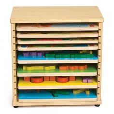 Wooden Puzzle Case