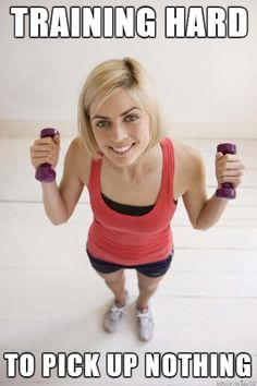 Women In The Gym, Tip #3: Lift Heavy.  Most people in the gym don't lift weights heavy enough to stimulate any significant change in their body.  Women tend to be the most conservative when it comes to picking up dumbbells through a misplaced fear of 'being bulky'.  Lifting heavy weights is a fantastic way to lose body fat when combined with a good nutrition plan, and is the only effective way to tone your muscles (i.e make them stronger).