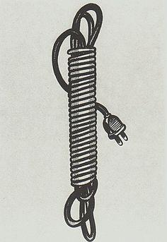 Electric Cord by Roy Lichtenstein