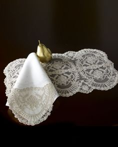 Chantilly Lace Table Linens - Horchow