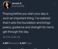 Feels like anytime I don't pray, I don't feel the Lord's guidance on my life Bible Verses Quotes, Jesus Quotes, Faith Quotes, Scriptures, Tweet Quotes, Mood Quotes, Def Not, Real Talk Quotes, Care Quotes