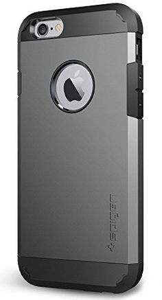Spigen Tough Armor iPhone 6S Case with Extreme Heavy Duty Protection and Air Cushion Techonology for iPhone 6S  iPhone 6  Gunmetal * Click image to review more details. (Note:Amazon affiliate link)