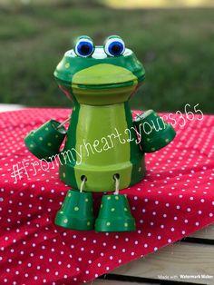 Frog Flowerpot