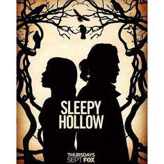 SnapWidget | Season 3 art -- a mini poster of it comes with the Season 2 DVD, which was released today! #SleepyHollow #TomMison #NicoleBeharie #IchabodCrane #AbbieMills #octoberpremiere #notseptember