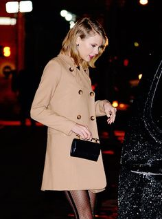 Taylor Swift leaving her apartment, February 17, 2015