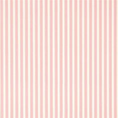 Rose / Ivory - DCAVTP101 - New Tiger Stripe - Caverley - Sanderson Wallpaper