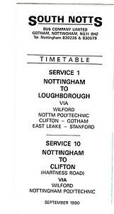 SOUTH-NOTTS-BUSES-GOTHAM-SERVICE-1-10-TIMETABLE-1990