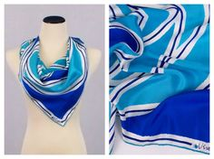 Hey, I found this really awesome Etsy listing at https://www.etsy.com/listing/194673658/vera-neumann-silk-blend-scarf-turquoise