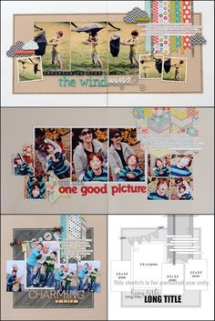 make a page from merry go round at park with all of the not good shots  Allison Davis - scraplift