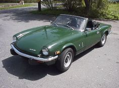 1972 Triumph Spitfire, HAD 2, 1 BRITISH RACING GREEN AND ONE BRIGHT ASS ORANGE