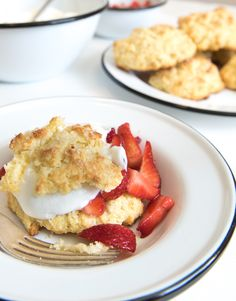 The Best Strawberry Shortcake, Two Ways - Bless this mess