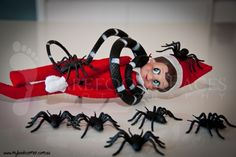 Elf on the Shelf is under attack!....