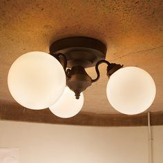 Tango ceiling lamp 3 タンゴシーリングランプ 3灯 - リグナセレクションのライト通販 | リグナ東京