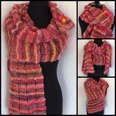 Trutti Fritti  Strikkekit fra www.dragenkunst.dk Crochet Necklace, Knitting, Fashion, Velvet, Crochet Collar, Moda, Tricot, Fashion Styles, Stricken