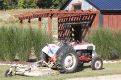 A little fall TLC on the tractor and other equipment goes a long way in keeping them running