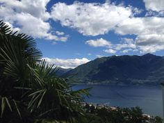 Do you need some vacation? Then #visitTicino! This lovely view comes from #Locarno!