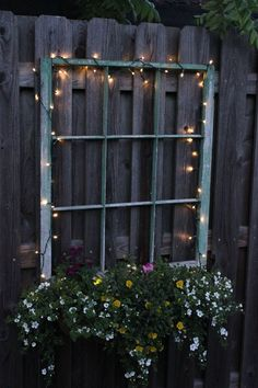 32 fun and inspiring old outdoor window decor ideas around your yard gla . 32 fun and inspiring old outdoor window decor ideas to make your yard shine # for home decoration with lavender flower potFront yard i. Solar Deck Lights, Deck Lighting, Lighting Ideas, Driveway Lighting, Backyard Lighting, House Lighting, Landscape Lighting, Strip Lighting, Outdoor Projects