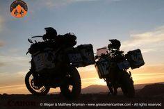 Sunset over the valley of the moon in Chile's Atacama desert www.greatamericantrek.com