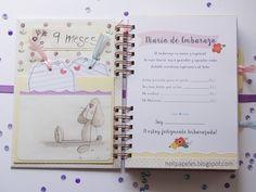 Heli Papeles ♥: Diario de Embarazo para Cristina